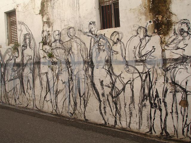 Hoy las redes son como los muros de la protesta. Fotografía de Gogolac.