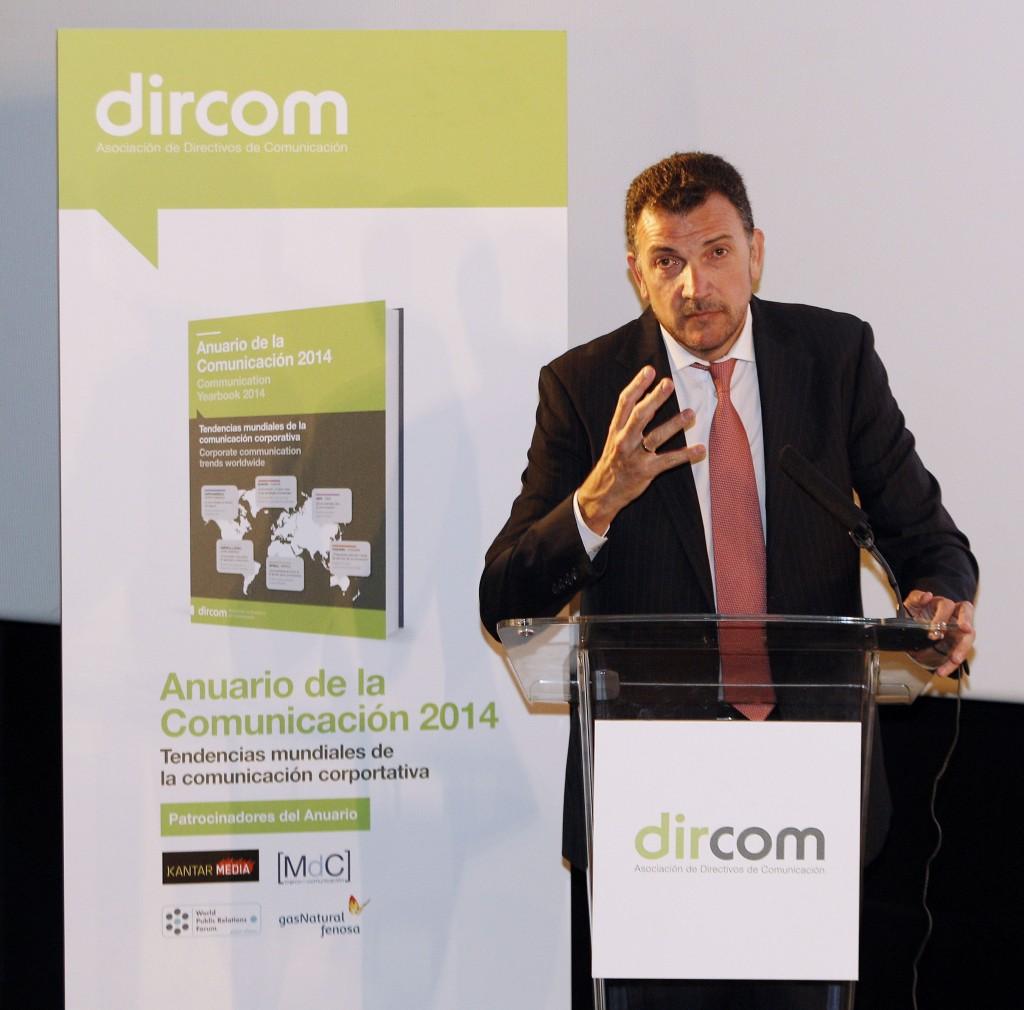 Presentación del Anuario de Dircom 2014