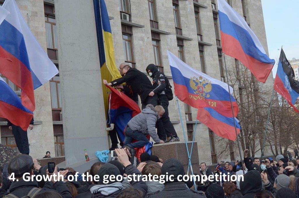 Conflicto geoestratégico EN