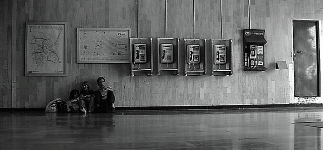 Comunicación, entre el hombre y la máquina. Fotografía de Sonia Carolina