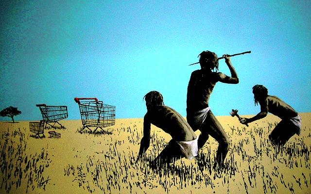 La desconfianza avanza. La visión de Banksy.