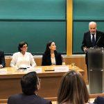 Discurso de Antonio López en la recepción del premio Luka Brajnovic