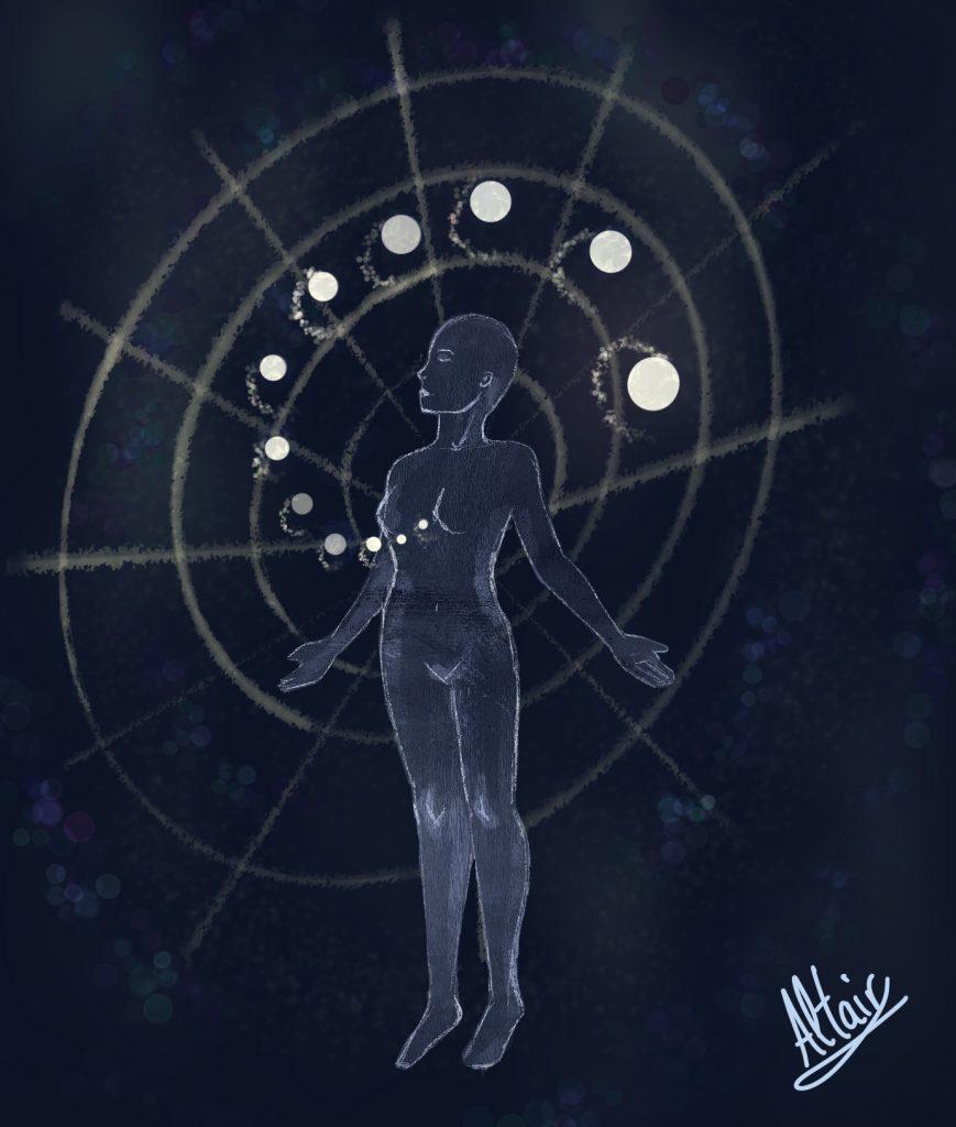 Cuerpo y alma en equilibrio. Ilustración de Altair.
